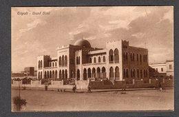 1927 LIBIA TRIPOLITANIA AFRICA ITALIANA TRIPOLI GRAND HOTEL FP NV SEE 2 SCANS - Libia