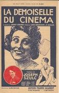 Partition  La Demoiselle Du Cinéma J Szulc - Partitions Musicales Anciennes