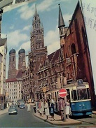 5 CARD GERMANY MUENCHEN MUNCHEN MONACO BAVIERA TRAM VBN1958/80 FX10598 - Muenchen