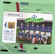 GN499 5 Unites *** 04/98 *** CANDIA *** Equipe De France 98 *** NSB *** (BO-01) - 5 Unità