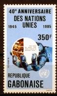 Gabon, 1985, United Nations, 40th Anniversary, MNH, Michel 945