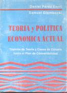 TEORIA Y POLITICA ECONOMICA ACTUAL - TOPICOS DE TEORIA Y CASOS DE ESTUDIO HASTA EL PLAN DE CONVERTIBILIDAD LIBRO AUTORES - Economie & Business