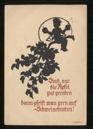 GERMANIA  ANNI 40  -  BAMBINO . FORMATO GRANDE  SILHOUETTE(13) - Siluette