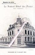 MANTES-la-JOLIE - Le Nouvel Hôtel Des Postes - Rue Gambetta - Inauguré Le 6 Juillet 1913 - Mantes La Jolie