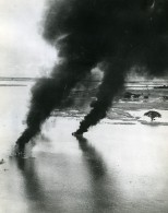 WWII Birmanie RAF Beaufighters Bombardement Pres De Pakokku Ancienne Photo 1944 - Guerre, Militaire