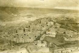 Syrie Sous Mandat Millitaire Français Deir EzZor ? Vue Aerienne Ancienne Photo 1928 - War, Military