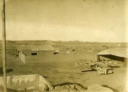 Syrie Sous Mandat Français Deir EzZor Camp D'Aviation Militaire Breguet Ancienne Photo 1928 - War, Military