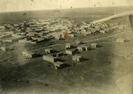 Syrie Sous Mandat Militaire Français Hassaké Hassetché Vue Aerienne Aviation Ancienne Photo 1928 - War, Military