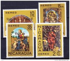 NICARAGUA POSTE AERIENNE 1968 YT N° PA 623 à 626 ** - Nicaragua