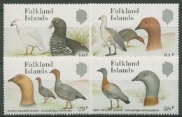 Falkland-Inseln 1988 Gänse: Kelbgans, Rotkopfgans 480/83 Postfrisch - Falkland
