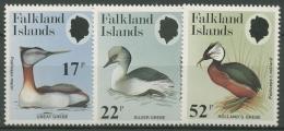 Falkland-Inseln 1984 Seetaucher 412/14 Postfrisch - Falkland Islands