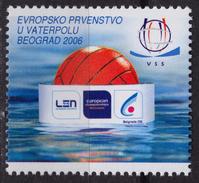 2006 Serbia Belgrade - WATER POLO European Championship - LABEL / CINDERELLA / VIGNETTE - MNH - WATERPOLO