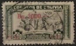 BOLIVIA 1951 Airmail - The 400th Anniversary Of The Founding Of La Paz. USADO - USED. - Bolivia