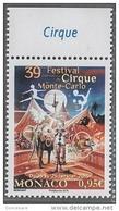 ** MONACO 2015 - N° 2953 - FESTIVAL DU CIRQUE - NEUF ** - Monaco