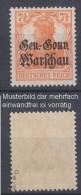 Dt.Post Polen,9b,xx,gep. - Besetzungen 1914-18
