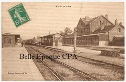 76 - EU - La Gare / Train En Gare +++++++ Édition Desmons, Eu +++++ 1914 +++++ RARE - Eu
