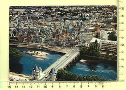 CPM, CHATELLERAULT: Vue Générale Aérienne, Pont Henri IV - Chatellerault