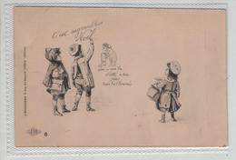 Illustrateur Marchand Rue Du Renard Paris No 6 Paul Dufresne Enfants Noel - Illustrateurs & Photographes