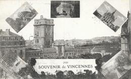 Souvenir De Vincennes - Multivues - Carte E.M. N° 2859 - Souvenir De...