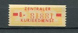 Ddr Dienst Zkd Mi 18 Xx  #dx1672 - DDR