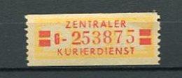 Ddr Dienst Zkd Mi 18 Xx  #dx1671 - [6] République Démocratique