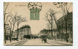 CPA  94  :  CRETEIL  Rue De Paris    A    VOIR  !!! - Creteil