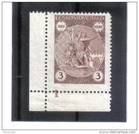 BAU1229 TSCHECHOSLOWAKEI  1929  MICHL 287 ** Postfrisch Siehe ABBILDUNG - Tschechoslowakei/CSSR