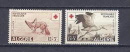 ALGERIE. YT  343/344  Au Profit De La Croix-Rouge 1957 Neuf ** - Ongebruikt