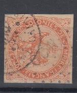 #114# COLONIES GENERALES N° 5 Oblitéré Losange OCN (Océanie) + Cachet Ambulant Calais - Águila Imperial