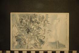 Cp, 51, REIMS, 24 Mai 1430  Jeanne D'arc Prise Devant Le Pont Levis Du Boulevard, Illustrateur ROBIDA - Reims