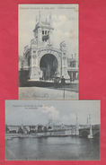 Liège - Exposition Universelle De 1905 - 2 Cartes Postales ( Voir Verso ) - Liege