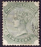 MAURICE 1879 -  Mauritius - Y&T  69 -  Victoria   - Oblitéré - Cote 1e - Mauritius (...-1967)