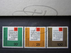 BEAUX TIMBRES DU CAMEROUN N° 369 - 371 , XX !!! - Cameroon (1960-...)