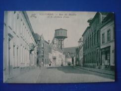 VIOLVOORDE : Rue Du MOULIN Et Le Château D'eau - Vilvoorde
