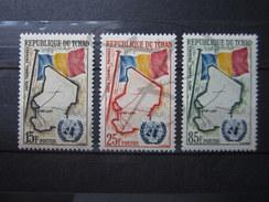 BEAUX TIMBRES DU TCHAD N° 63 - 65 , XX !!! - Tchad (1960-...)