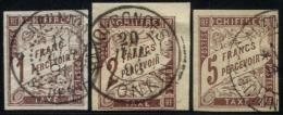 Colonies Générales - Taxes N°15/17 - TB
