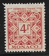 N° 35  TAXE  -  MONACO  -  NEUF  -  1946 : 1957 - Impuesto