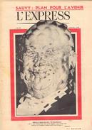 EXPRESS N°457 17 Mars 1960 KROUCHTCHEV ; NOUVELLE VAGUE ESPAGNOLE ; BELMONDO A BOUT DE SOUFFLE ; PLEIN SOLEIL - Periódicos