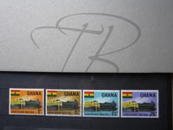 BEAUX TIMBRES DU GHANA N° 148 - 151 , XX !!! - Ghana (1957-...)