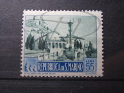 BEAU TIMBRE DE SAINT - MARIN N° 331A , X !!! - Saint-Marin
