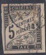 #114# COLONIES GENERALES TAXE N° 5 Oblitéré Bras-Panon (Réunion)