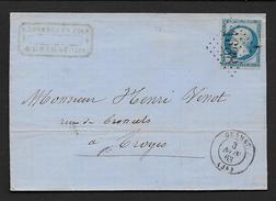 Lot -  G.C. 1688  Et Cachet Type 15  GRAMAT - 1849-1876: Période Classique