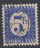 #114# COLONIES GENERALES TAXE N° 35 Oblitéré Mata Utu (wallis Et Futuna)   RARE +++