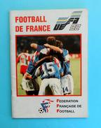 UEFA EURO 1992. - France Team Programme & Guide * Football Soccer Fussball Programm Programma Foot French - Books