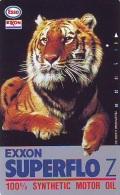 Télécarte Japon * 110-44304 * ESSO * EXXON Animal * TIGRE * TIGER (777) * FELIN * Japan  Phonecard Telefonkarte * TIJGER - Phonecards