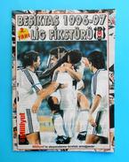 BESIKTAS JK - 1996/97. Lig Fiksturu Football Programme & Guide * Soccer Fussball Programm Turkey Turquie Türkei Turquia - Books