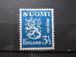 BEAU TIMBRE DE FINLANDE N° 193 , X !!! - Finlande