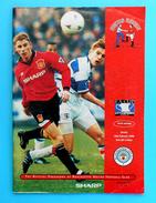 MANCHESTER UNITED FC : MANCHESTER CITY FC - 1996. FA CUP Official Football Match Programme Soccer Programm Programma - Soccer