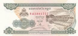 CAMBOGIA 200 RIELS 1998 FDS - Cambodia