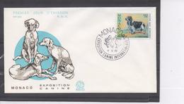 MONACO - Faune - Chien : Coker Spaniel - Exposition Canine Internationale à Monté-Carlo - FDC